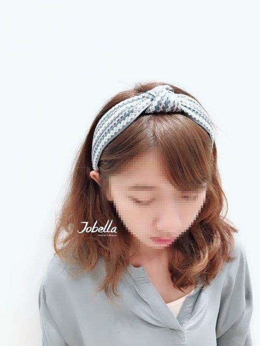 ✽JoBella 韓國空運 韓國代購✽韓貨✽ 圖騰編織寬髮箍 現貨+預購