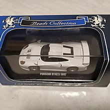 京商 Kyosho 1/64 Beads Collection Porsche 911GT1 1997 Street car white