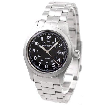 HAMILTON H68411133 漢米爾頓 手錶 38mm FIELD QUARTZ 鋼錶帶 男錶女錶