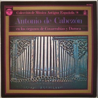 黑膠唱片 Cabezon - En Los Órganos De Covarrubias Y Daroca - 1976