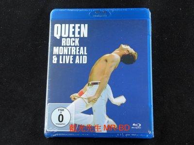 [藍光BD] - 皇后合唱團 : 蒙特婁現場演唱會 Queen : Rock Montreal & Live Aid