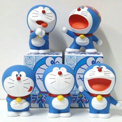 動漫哆啦a梦公仔手办 玩具机器猫 车载摆件 叮当猫模型全套礼物