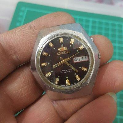 4cm 大錶徑 ORIENT 機械錶 行走中 男錶 非z4 Rolex OMEGA SEIKO CITIZEN J12