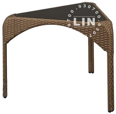 【品特優家具倉儲】B881-05餐椅戶外休閒椅SK-609T籐製桌