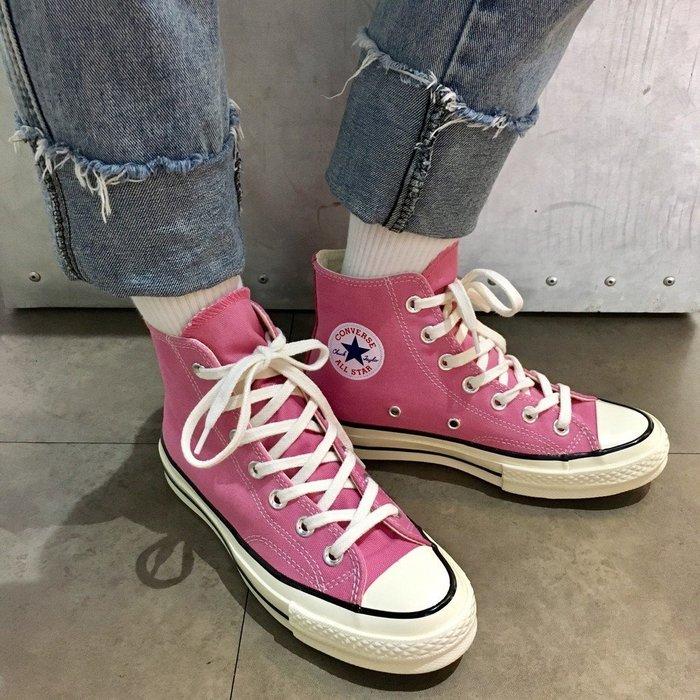 CONVERSE ALL STAR '70 1970 高筒 帆布鞋 151225C 男女鞋 粉紅 休閒 滑板鞋