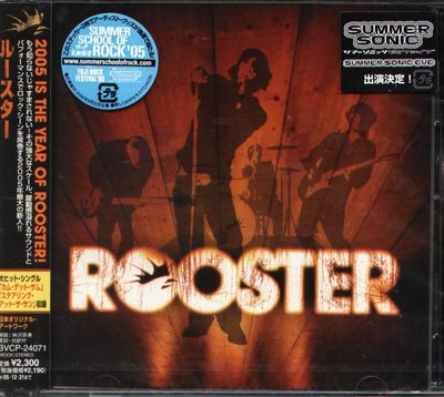 K - Rooster - Rooster Self Title - 日版 - NEW