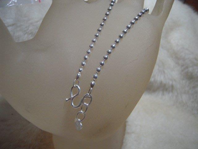 ※水晶玫瑰※ 990純銀圓珠手鏈(RD111B)