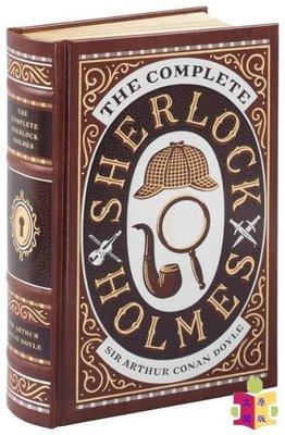 [文閲原版]巴諾經典(皮革精裝版):福爾摩斯作品全集 英文原版 The Complete Sherlock Holmes 柯南道爾 推理小說