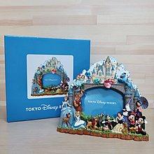 日本迪士尼 迪士尼人物大集合 相框 絕版