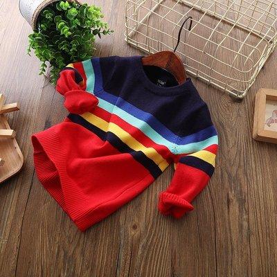 【Mr. Soar】H243 秋冬新款 歐美style童裝男童針織長袖上衣毛衣 現貨