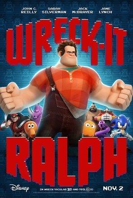 無敵破壞王 (Wreck-It Ralph) - 美國原版雙面電影海報 (2012年)