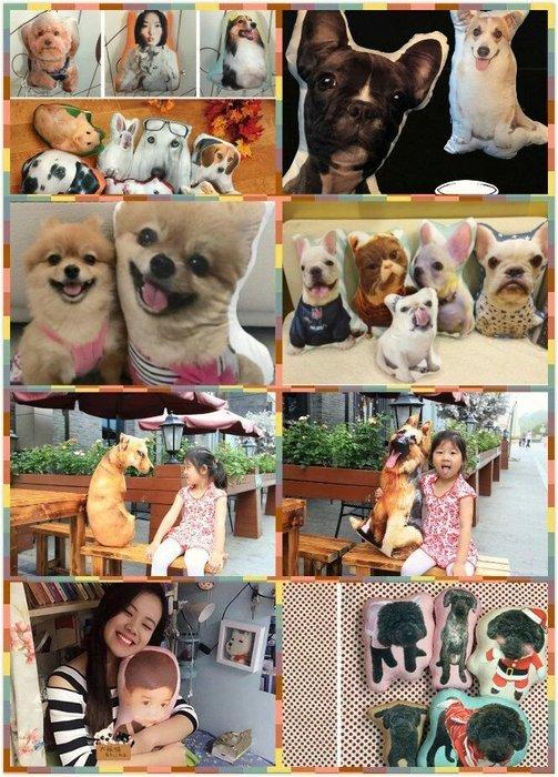 【🔊版娘專業客製化】人形抱枕 寵物抱枕 毛小孩 寵物 人偶形抱枕 狗頭抱枕 生日禮物 聖誕禮物 情人節禮物❤ 紀念禮物