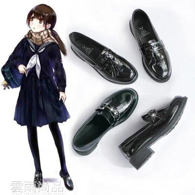 娃娃鞋 ins小皮鞋女學生韓版百搭軟妹新款秋季復古漆皮英倫黑色單鞋 雲雨尚品