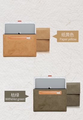 【現貨】ANCASE Acre Swift 3x 14吋 牛皮紙電腦包筆電包保護包