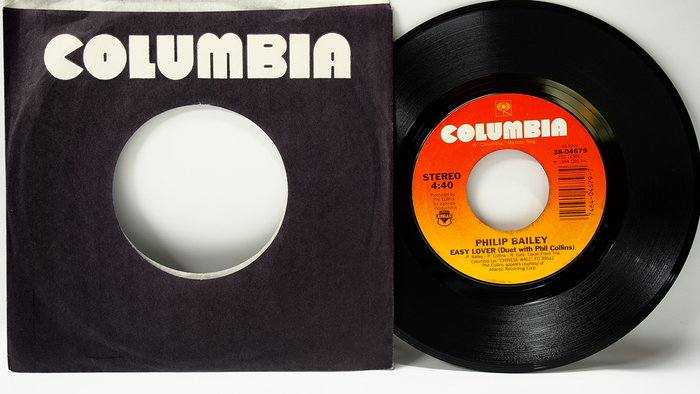 45 rpm 7吋單曲 Philip Bailey【Easy Lover duet with Phil Collins】