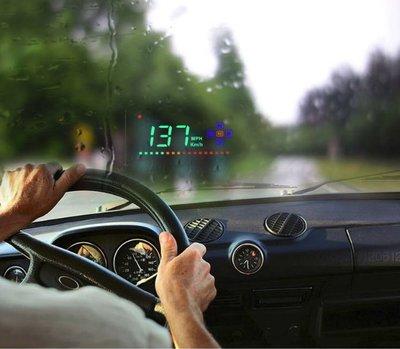 【NF431】GPS速度抬頭顯示器 智慧HUD抬頭顯示器汽車通用車載GPS衛星速度抬頭顯示儀平視 GPS測速