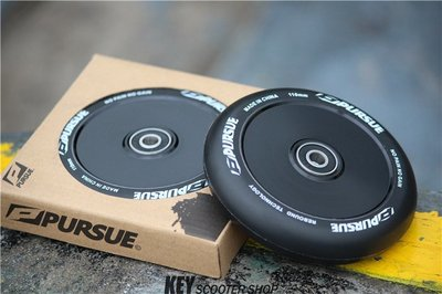 极限滑板车 轮子 Pursue中空封闭轮2017新品—暗黑武士110mm轮子兒童滑板車