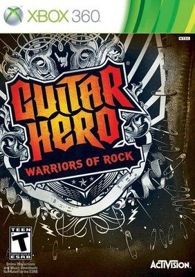 【二手遊戲】XBOX360 吉他英雄 搖滾巨星 Guitar hero 英文版【台中恐龍電玩】