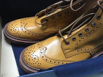 慧眼Z │ Tricker's Stow 經典雕花 繫帶皮鞋 皮底 定番色 Alden Prada Paraboot