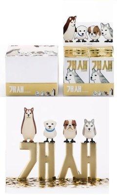 ✤ 修a玩具精品 ✤正版韓國盒玩 Thirdstage 狗鳥 一中盒全4款 一週年紀念版 限量品