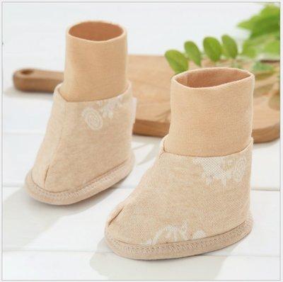 嬰兒鞋套 新生兒彩棉提花腳套 嬰兒襪套 母嬰用品