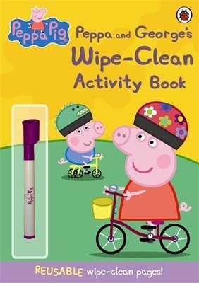 *小P書樂園* Peppa Pig: Wipe-Clean Activity Book
