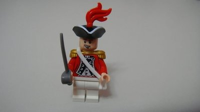 樂高 LEGO 神鬼奇航(2011年)  單賣一隻 總督King George's Officer