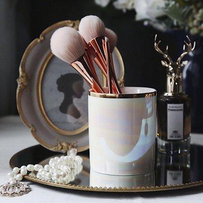 MAJPOINT*珍珠貝殼釉 收納罐 ...