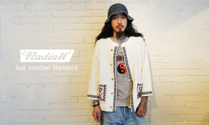 GOODFORIT / 日本Radiall ONE EIGHTY Tee吉普賽空靈太極圖像短袖上衣