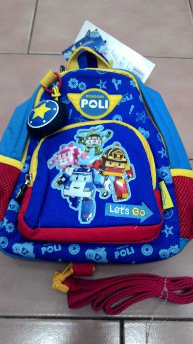 韓國進口 POLI 波力 救援小英雄 後背包 防走失包 防走失繩 波力安寶羅伊赫利 現貨