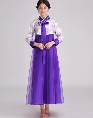 [便利小舖] 古裝傳統韓國結婚宮廷韓服禮服朝鮮族舞蹈大長今少數民族演出服 Cosplay服裝