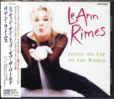K - LeAnn Rimes - SITTIN' ON TOP OF THE WORLD 日版 +1BONUS NEW