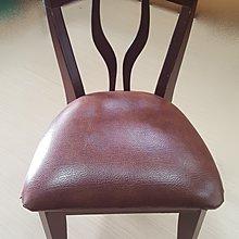 【宏品二手家具館】中古家具 家電 F40304*胡桃化妝椅* 洽談椅 書桌椅 二手餐桌 營業器材 沙發組 出清特賣
