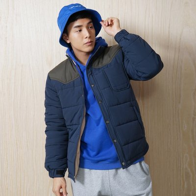 [9320]ad-lib Quilted Jacket 藍色