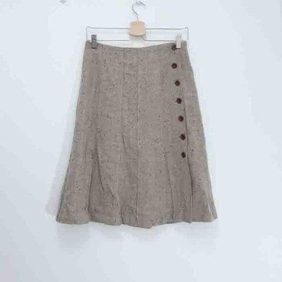 【日本品牌】Entertainer毛料中長裙--日本製T6