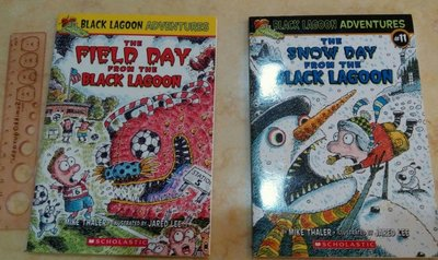 清書櫃!2本$120. Black Lagoon Adventures. Scholastic. 初級英文小說