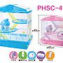 ☆米可多寵物精品☆IRIS PHSC-412三層鼠用造型籠-粉色 252744/ 藍色 252751