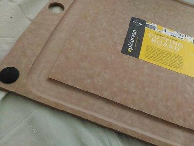 [小寶的媽] 美國代購Epicurean All-In-One Boards 抗菌木砧板L號