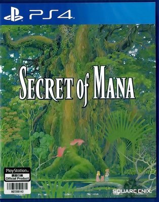 【全新未拆】PS4 聖劍傳說2 SECRET OF MANA 中文版【台中恐龍電玩】