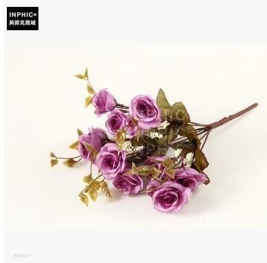 INPHIC-塑膠花娟插花花藝成品歐式假花套裝家居客廳整體擺設裝飾花-B款_S01870C