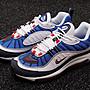 Nike Air Max 98Gundam復古氣墊 男女慢跑鞋 640744-100