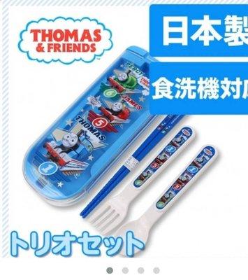 ❈花子日貨❈日本製,THOMAS,湯瑪士,小火車,兒童,外出,環保,餐具組