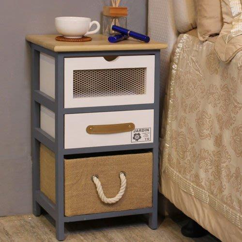 中華批發網:HD-YT-0301-英式古典-卡爾三抽收納櫃/電話櫃/床頭櫃/收納櫃/置物櫃