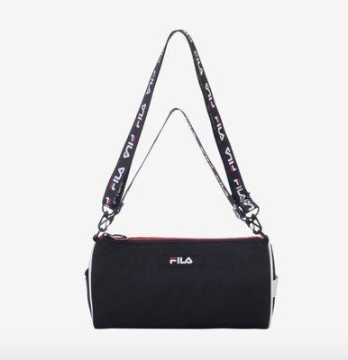 【預購】【韓國代購】FILA 圓筒側背包 2色