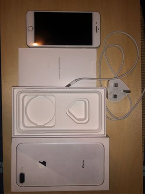 港版 Iphone 8 Plus sliver 太空銀 64GB [無花及刮痕 一切功能正常