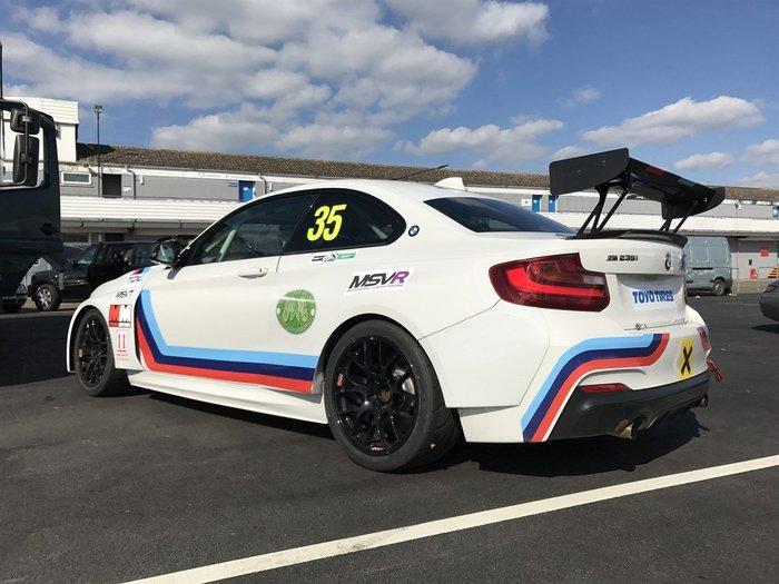 【樂駒】BMW Motorsport Carbon 尾翼原廠 改裝 賽車 空力 套件