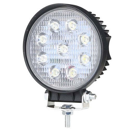LED燈27W工作燈薄款12V 24V照明燈投射燈霧燈白光