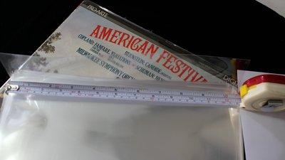 【198樂坊】12吋(32公分) 黑膠唱片透明保護 外套 //每包100張(............)