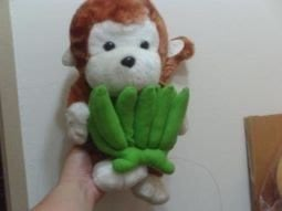全新紅毛猴子(高約35cm)