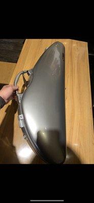 筌曜樂器 全新 法國 Bam 小提琴盒 科技感系列 2000XLA 髮絲銀(防水、超輕1.9kg)